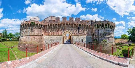 The gate Porta Nuova in Colle di Val d'Elsa (Italy)