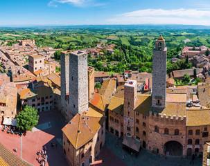Towers of San Gimignano (Italy)