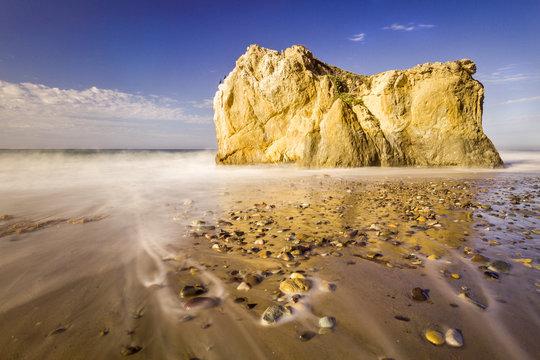 Malibu, California, USA: Famous El Matador Beach in summer in the early morning.