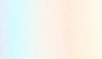 Template background with curved line. Polygonal pattern with triangles style. Decorative design for your idea. Vector illustration. Creative gradient color.