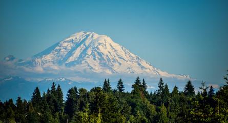 Mount Rainier National Park Sunrise, Washington