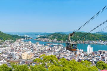 Fototapeta 千光寺公園から望む尾道の風景 obraz
