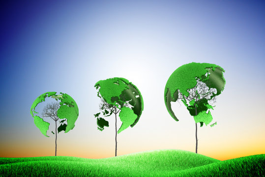 Green earth, low carbon living environment