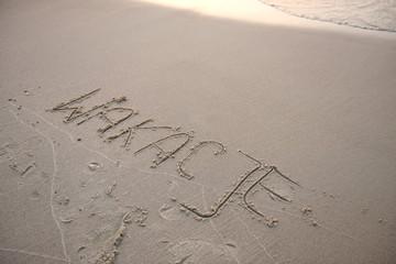 Fototapeta plaża obraz