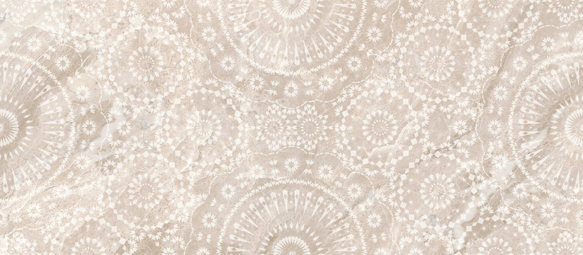 vintage background with pattern, lace and marble design,