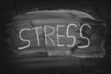 Word Stress on a blackboard