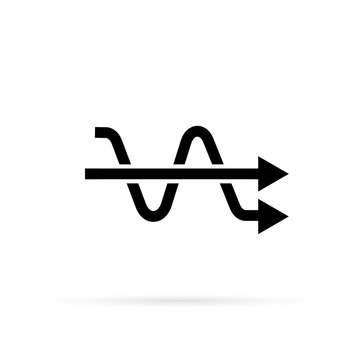Simplify arrows icon symbol simple design