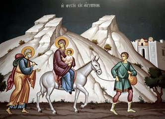 Icon from a Greek church