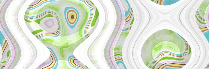 Fluid art- abstract illustration Fototapete