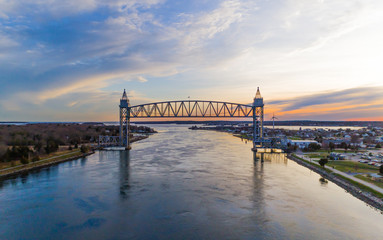 Cape Cod Canal Railroad Bridge Fototapete