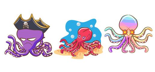 octopus vector graphic design