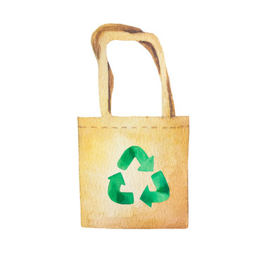 Zero waste bags. Eco bags. Hand drawn bags.