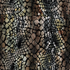 Snake Seamless Pattern