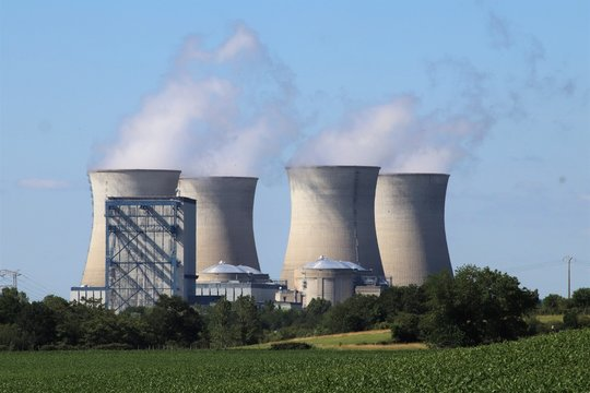 Centrale nucléaire du Bugey - Département de l'Ain - France