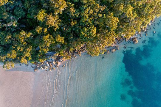 Aerial Beach Coastline Australia