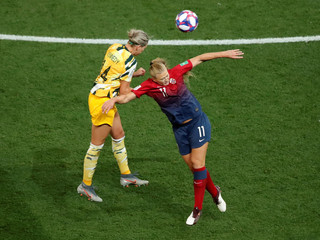 Women's World Cup - Round of 16 - Norway v Australia