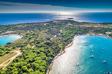 Croatia, Istria, aerial view of Cape Kamenjak Fototapete