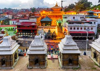 Photo sur Aluminium Népal Pashupatinath temple in Kathmandu, Nepal
