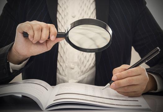Corruption audit concept