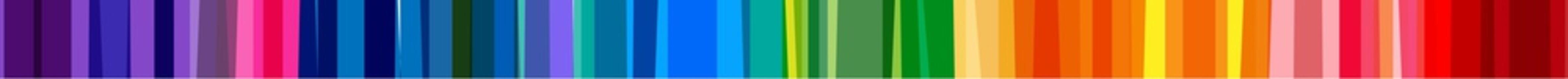 Filet bandes multicolores