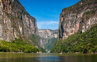 Nature in Canyon del Sumidero in Chiapas, Mexico