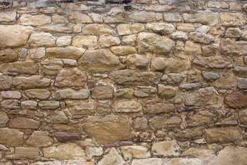 Background – Stone wall with square shaped stones