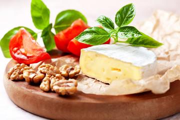 camembert and basil