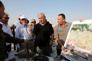 US National Security Advisor John Bolton in Israel
