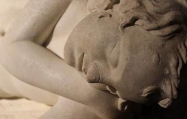 Statua in marmo - arte scultorea