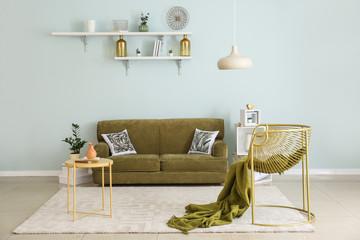 Stylish interior of modern room