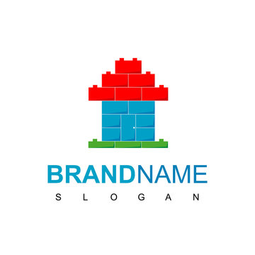 Lego House, Kids Place Or Real Estate Logo