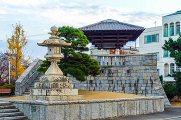 丸亀港に面した「みなと公園」