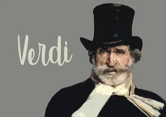 Obraz Giuseppe Verdi - fototapety do salonu