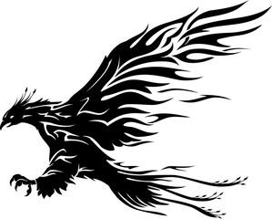 Phoenix Bird Flame