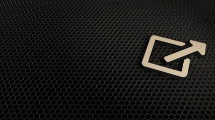 laser cut plywood symbol of external link alt