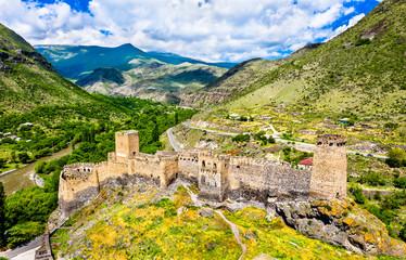 Khertvisi fortress in Meskheti, Georgia Fototapete