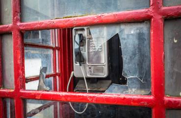 Smashed Phone Box