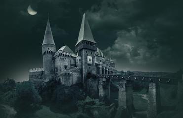 Corvin's Castle in Hunedoara Fototapete