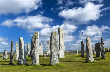 Callanish standing stone circle, Callanish, Isle of Lewis, Scotland, UK.