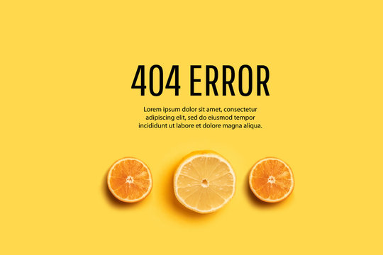 404 error page template for website