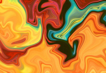 Colorful marble pattern, abstract background