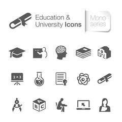 Education & university related icons