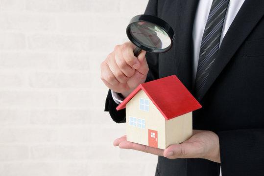 住宅の査定イメージ