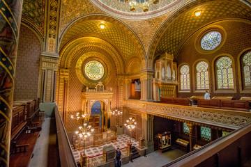 Die Spanische Synagoge in Prag, Tschechische Republik