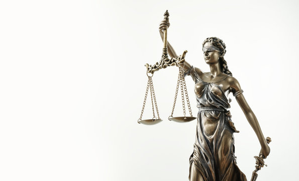 Themis Statue Justice Scales Law Lawyer Concept