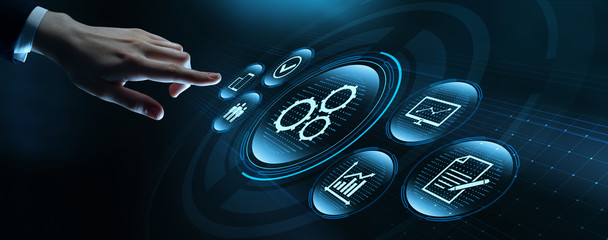 Automation Software Technology Process System Business concept