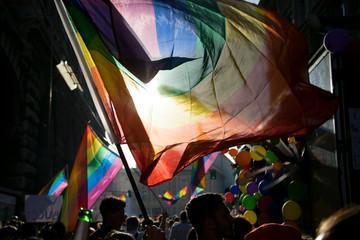 Gay Pride in Genova Italy