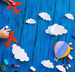 Creative colourful kid's background