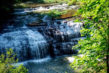 Burgess Falls in Sparta, Tennessee