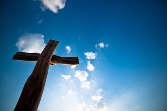 하늘,십자가